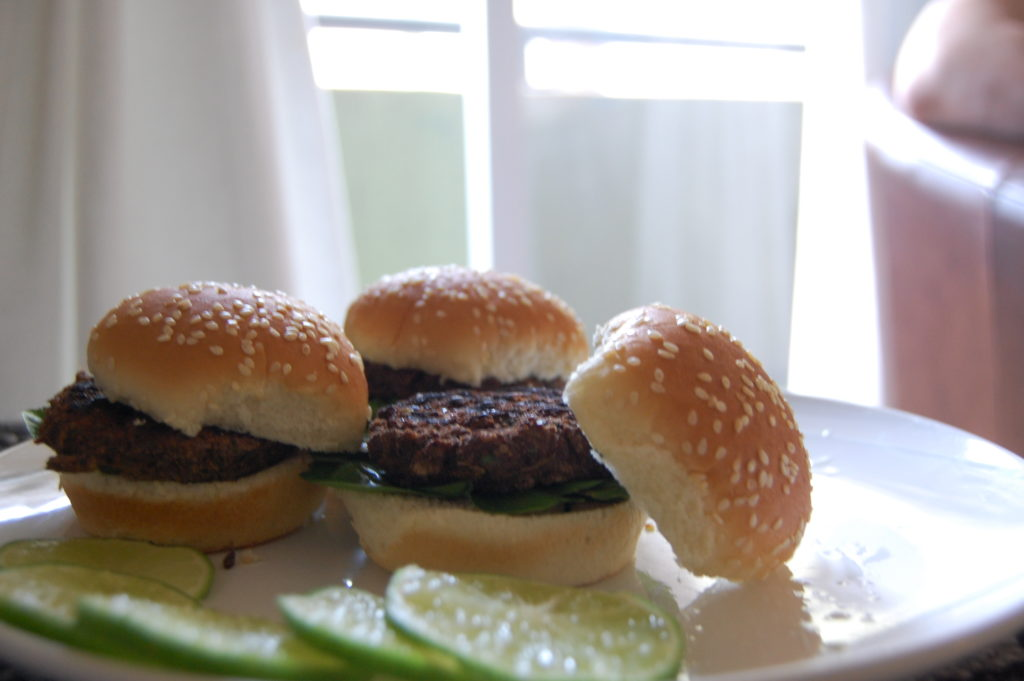 Spicy Jalapeno Lime Bean Burger Recipe